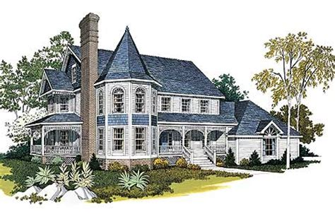 grand victorian  architectural designs house plans