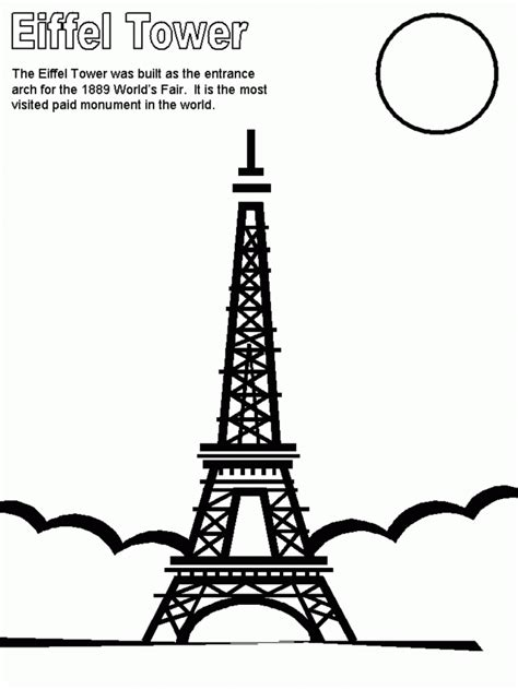 coloring pages on france coloring home