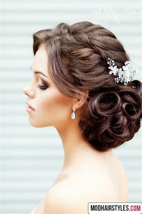 Wedding Hairstyles For Length Hair by Medium Hairstyles Thick Hair