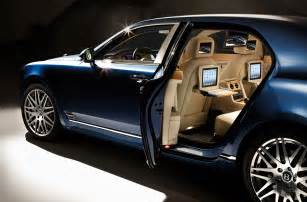 Bentley Mulsan Bentley Mulsanne Offers State Of The Multimedia
