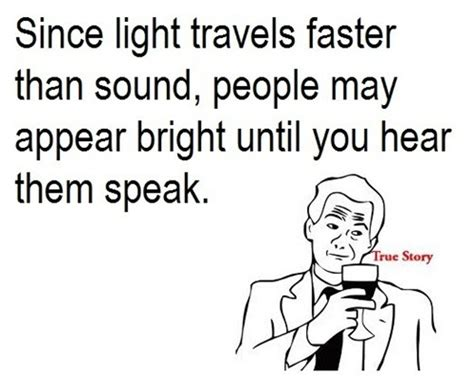 Does Light Travel Faster Than Sound by True Story