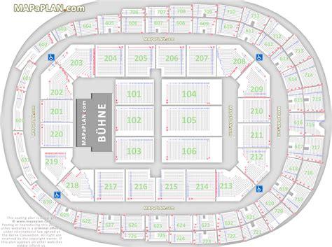 o2 world premium eingang cologne lanxess arena koeln detailed seat row numbers