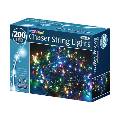 Chaser String Lights 100 200 400 Led Chrismas