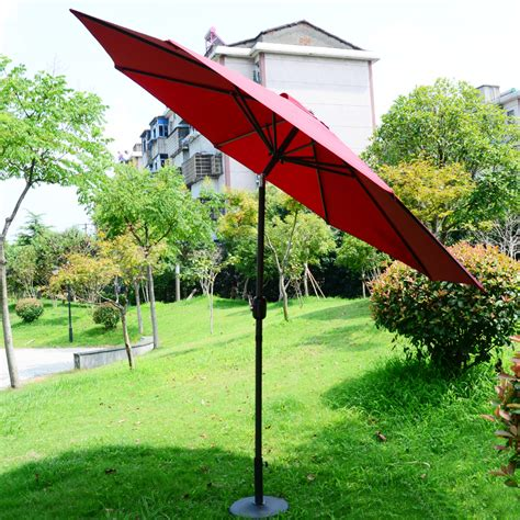 Patio Umbrella Large Large Outdoor Umbrellas Umbrella Column Large Patio Stall Advertising 2 7 M In Patio