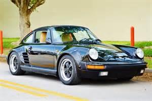 1985 Porsche 911 Turbo Specs 1985 Porsche 911 Factory M491 Wide Turbo Look Real