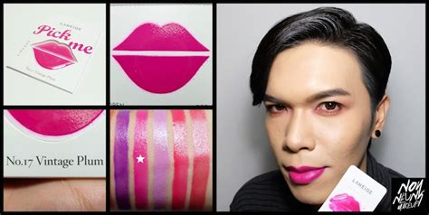Laneige Lip Card Glam Pink bloggang noyneung review แค ง บก สวยได laneige