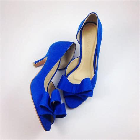 Blue Wedding Shoes by Something Blue Wedding Shoes Electric Blue Wedding Shoes