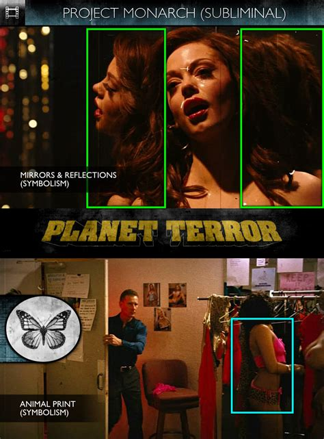 On Set For Grindhouse And Director by Grindhouse Planet Terror 2007 Subliminals