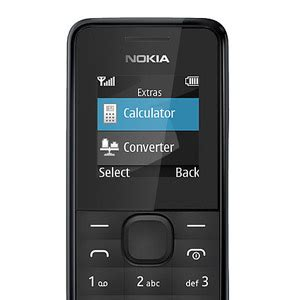 nokia 105 sim free unlocked black