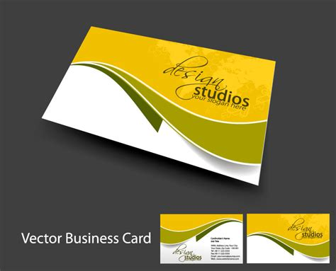 svg business card template brilliant dynamic business card template 05 vector free