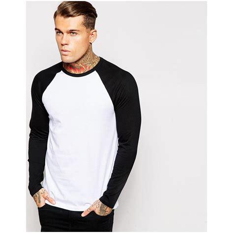 Asos Contrast Raglan Sleeve asos men s sleeve t shirt with contrast raglan