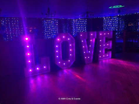Lu Warna Warni Led Infrared Remote Colorful Lights Ab579 led letters for hire iight up letters for hire