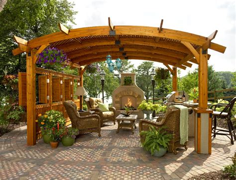 Outdoor Pergolas And Gazebos by Stylish Pergola Ideas For Your Home Pool Quest
