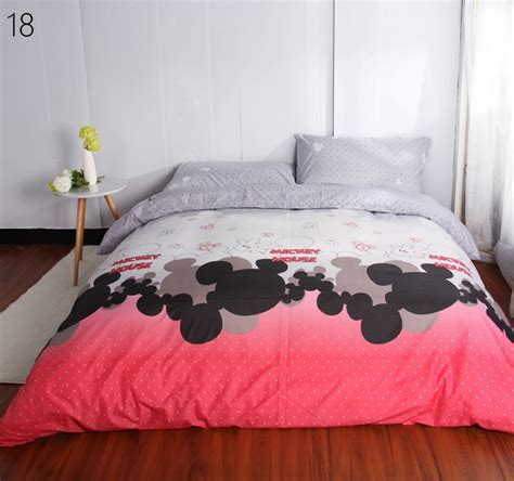duvet cover set custom size mickey minnie bedding sets
