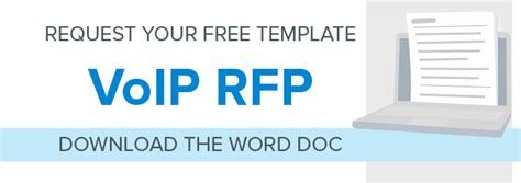 How To Write An Rfp For A Hosted Voip Phone System Jive Resource Center Voip Rfp Template