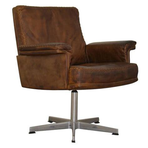 armchair desk vintage de sede ds 35 executive swivel desk armchair