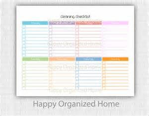 cleaning checklist template 29 free word excel pdf