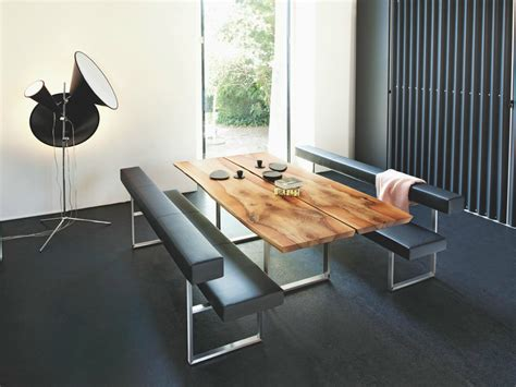 modern dining table with bench 5 looks 5 girsberger dining tables benches chairs
