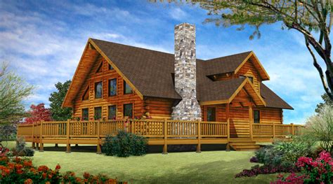One Story Cabin Plans by Floor Blogs The Log Home Neighborhood