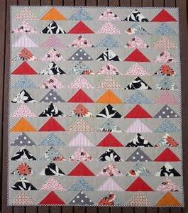 new designs with the flying geese quilt block inspiration