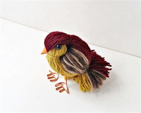 crafts yarn yarn bird