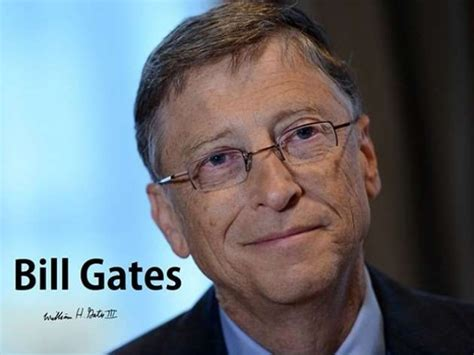 biography of william henry bill gates cpd chap 3 vision of success