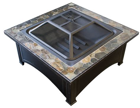 Electric Pit Table Az Patio Heaters Pit With Square Table Wood Burning