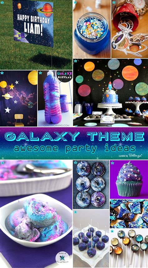 party ideas galaxy themed birthday party ideas themed birthday