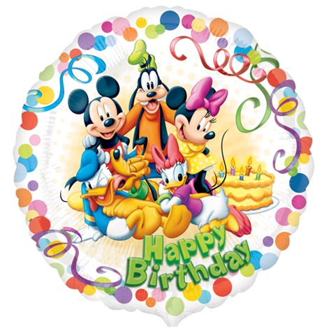 Balloon Decoration For Birthday At Home 18 mickey mouse and friends party happy birthday foil