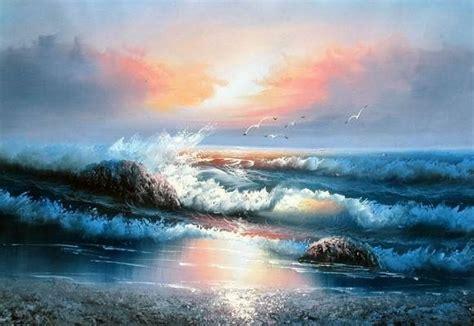 imagenes para pintar oleo paisajes marinos para pintar al oleo marinas pintura