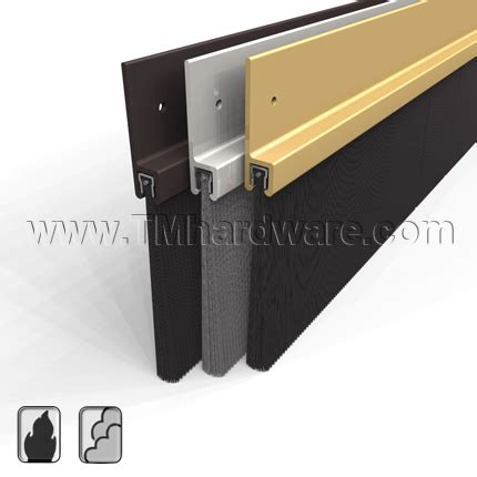 Brush Door Sweeps For Exterior Doors Brush Door Sweep Pemko 18250nb Seal Large Gaps Tmhardware