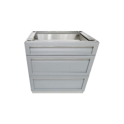 4 life outdoor stainless steel drawer plus 32x35x22 5 in 4 life outdoor stainless steel 3 drawer 32x35x22 5 in
