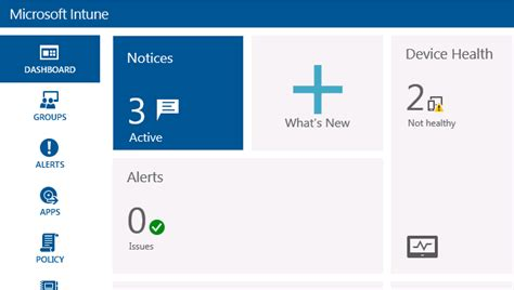 Office 365 Intune Portal Gerry Hson Device Management Microsoft Intune One