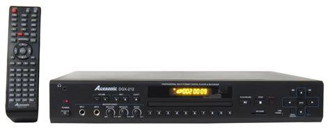 cdg format karaoke acesonic dgx 212 hdmi multi format karaoke player with 4x