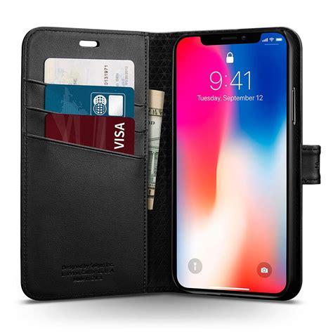 spigen 174 wallet s 057cs22176 iphone xs x black spaceboy