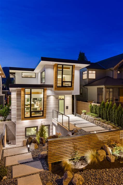 modern green home design award winning high class ultra green home design in canada