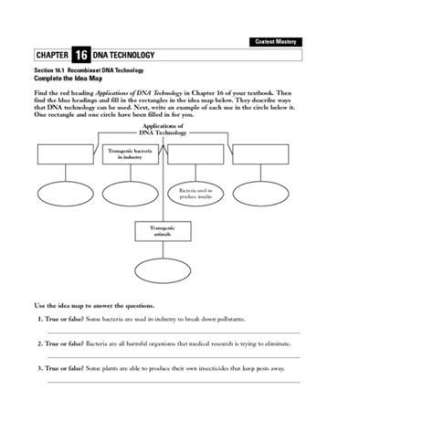 Dna Technology Worksheet worksheets dna technology worksheet opossumsoft