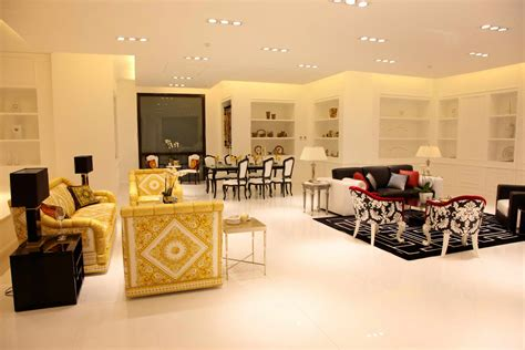home designers collection versace home and minotti high end furniture