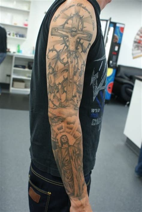 religious sleeves for religious tattoos 21 sleeve religious tattoos