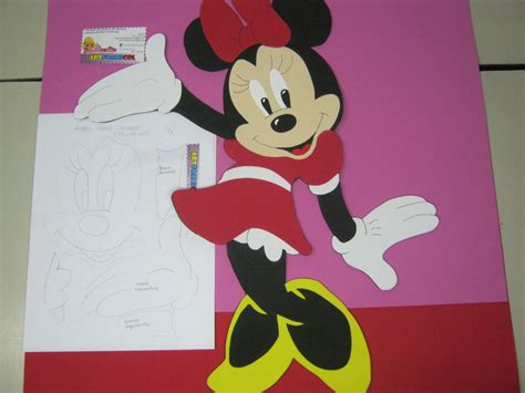 Minnie Mouse Home Decor by Mis Fofuchas 2013 Artfoamicol Como Hacer Minnie Mouse En
