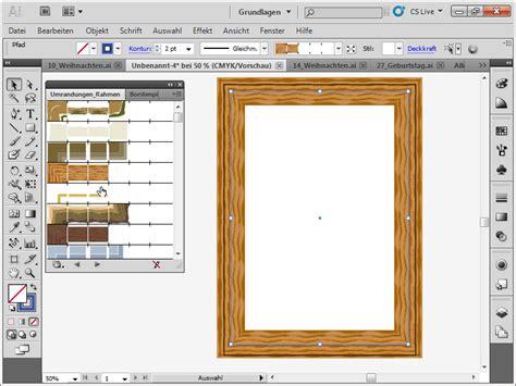adobe illustrator tutorial zeichnen illustrator rahmen kontur palette illustrator tutorials de