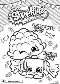 coloriage shopkins berry sweet lolly tootsie cutie