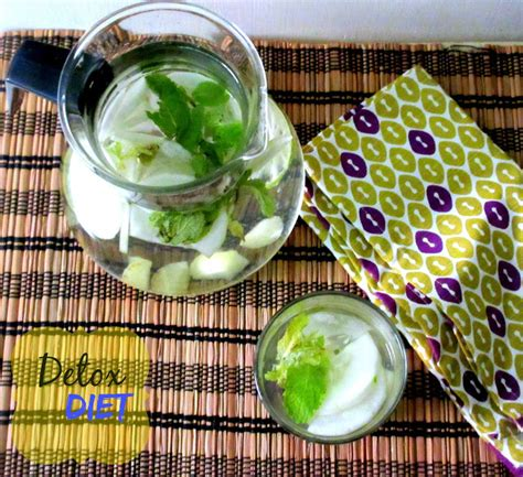 Cucumber Mint Detox Drink by Detox Drink With Cucumber Mint And Amla