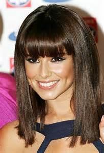 medium blunt hairstyles with bangs medium straight hairstyles beautiful hairstyles