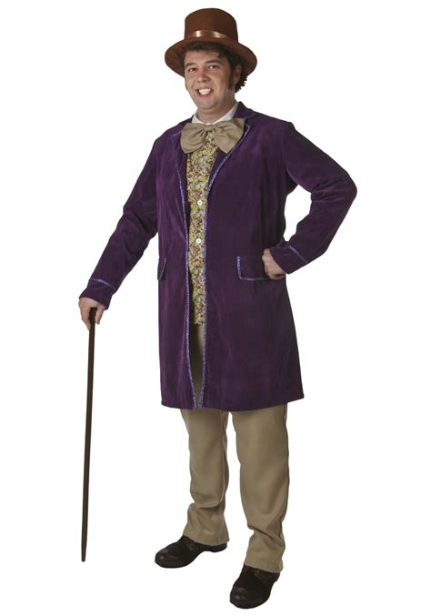 halloween costumes deluxe willy wonka costume