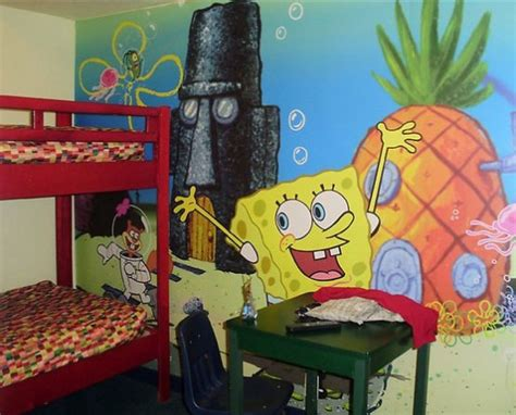 spongebob bedroom ideas spongebob squarepants theme bedroom decorations ideas for kids