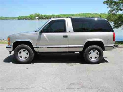 1999 2 Door Tahoe by Purchase Used 1999 Chevrolet Tahoe Lt Sport Utility 2 Door