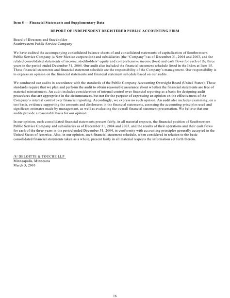 Xcel Energy Letter Of Credit xcel energy 10k sps rev