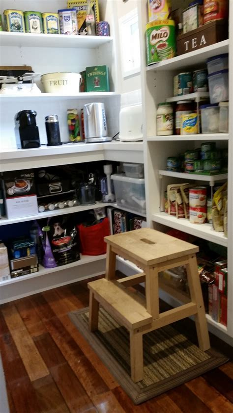 Mansfield Food Pantry by Pantry Options Brisbane Kitchen Design