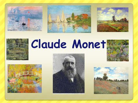 biography powerpoint ks2 tes a powerpoint about the life of claude monet by ruthbentham